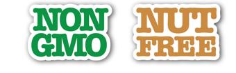 non GMO nut free