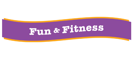 fun and fitness banner